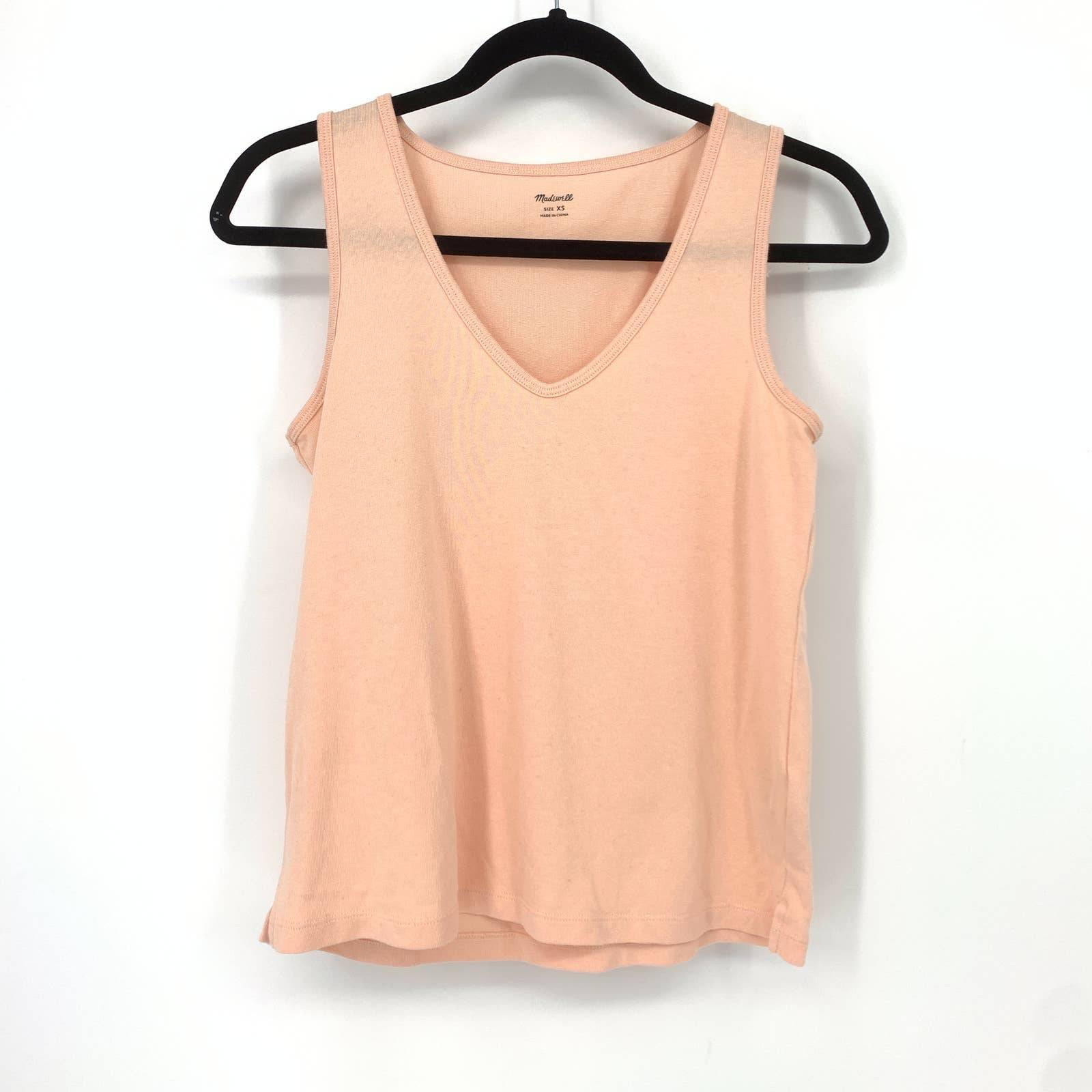 Madewell XS Whisper Cotton Muscle Tank