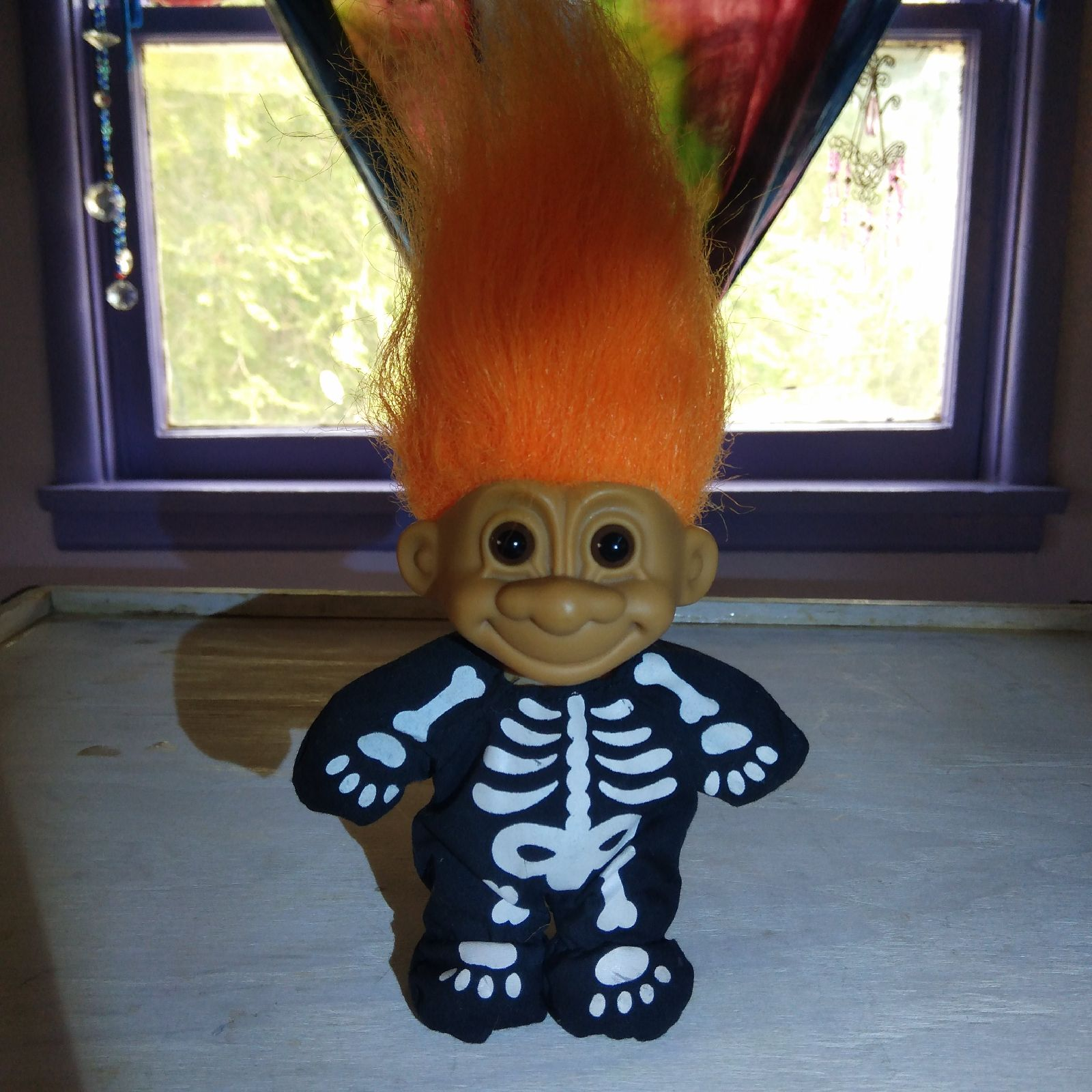 VINTAGE SKELETON TROLL DOLL-PERFECT COND