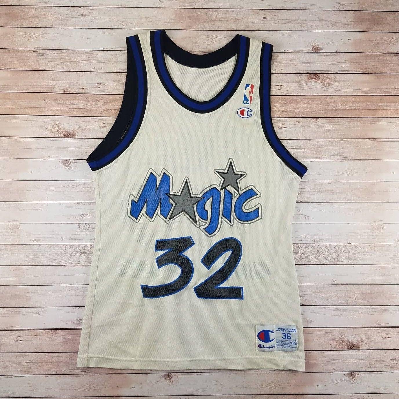 VTG 90s Shaq Magic Champion Jersey