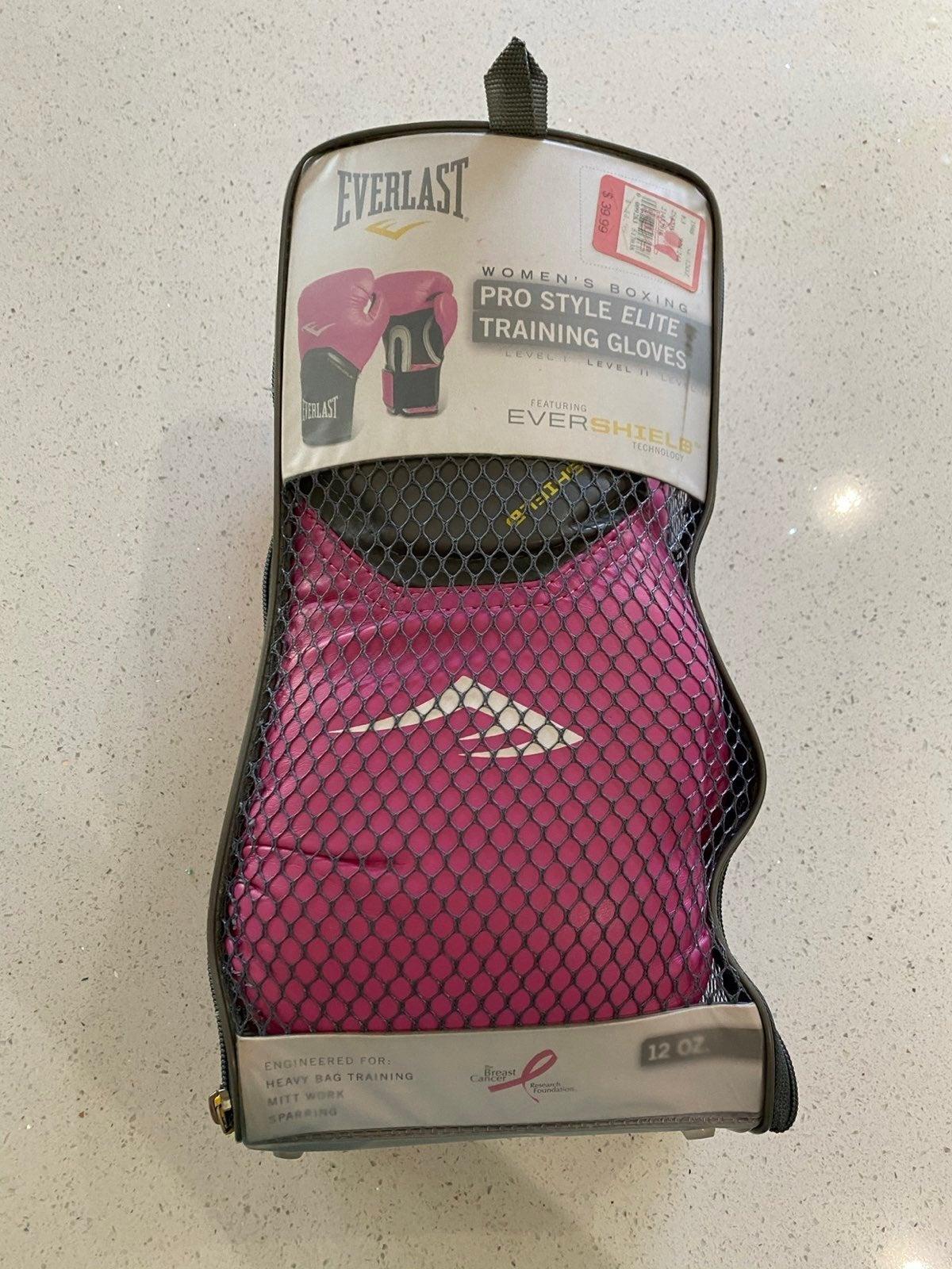 Everlast Boxing Gloves(Pink)