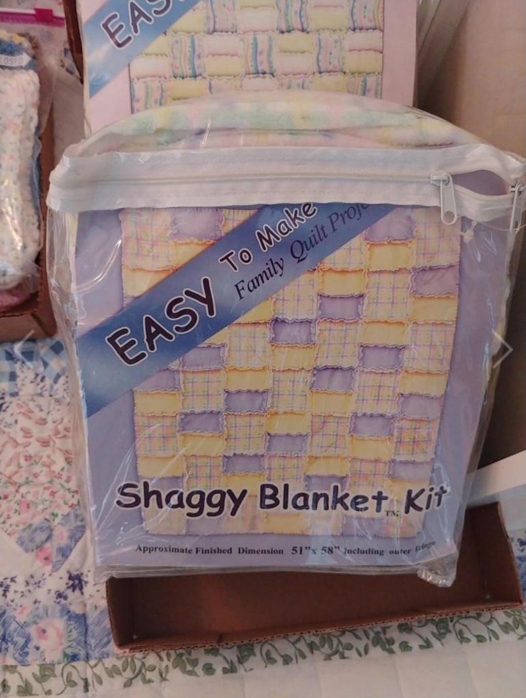 Shaggy Blanket Quilt Kit