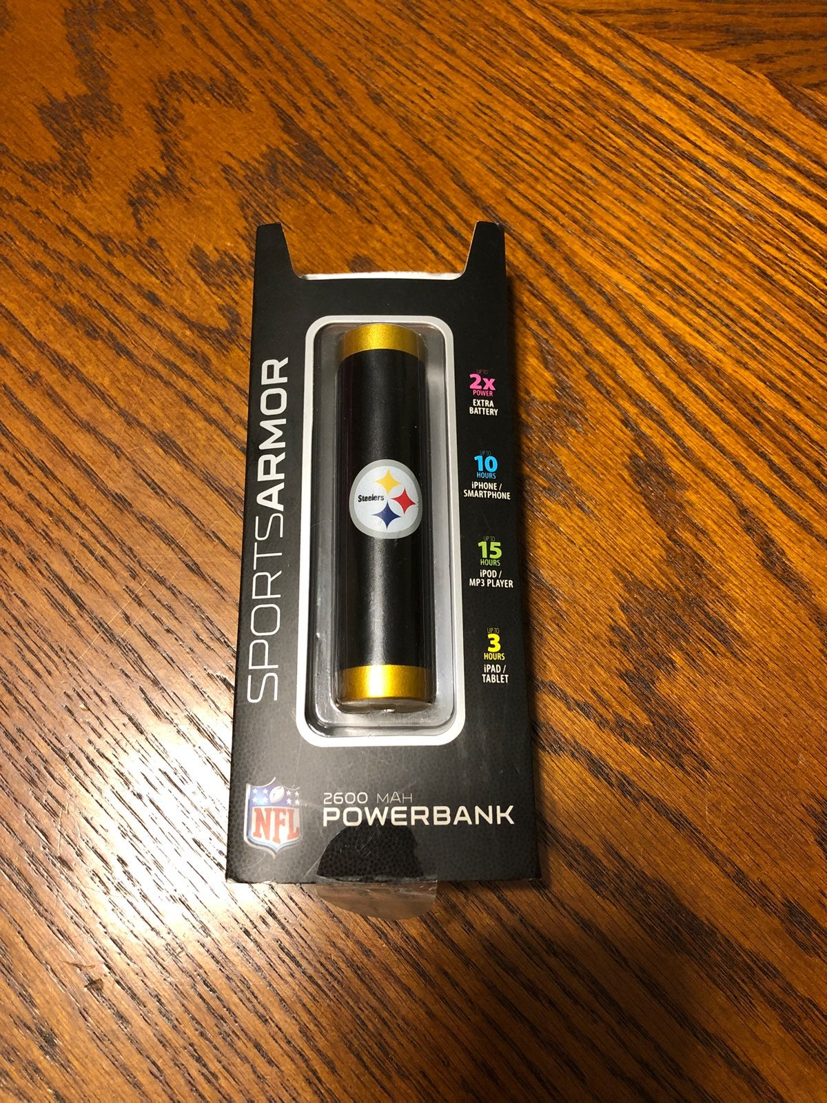 Steelers Power Bank Charger