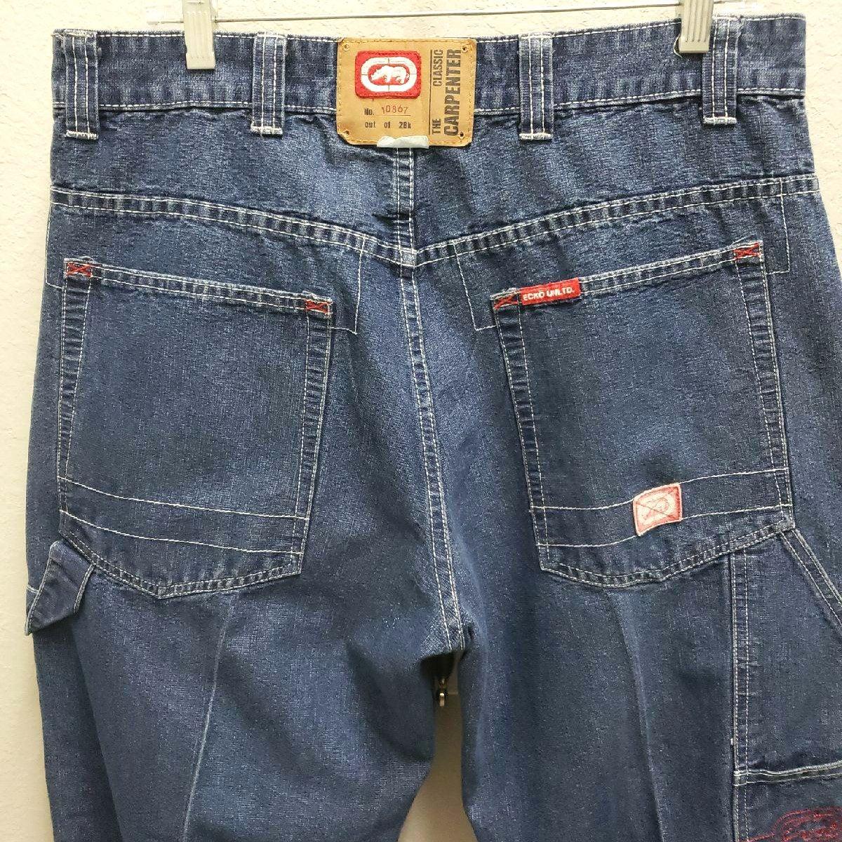 Marc Ecko Limit Edition Sz 34 Denim Jean