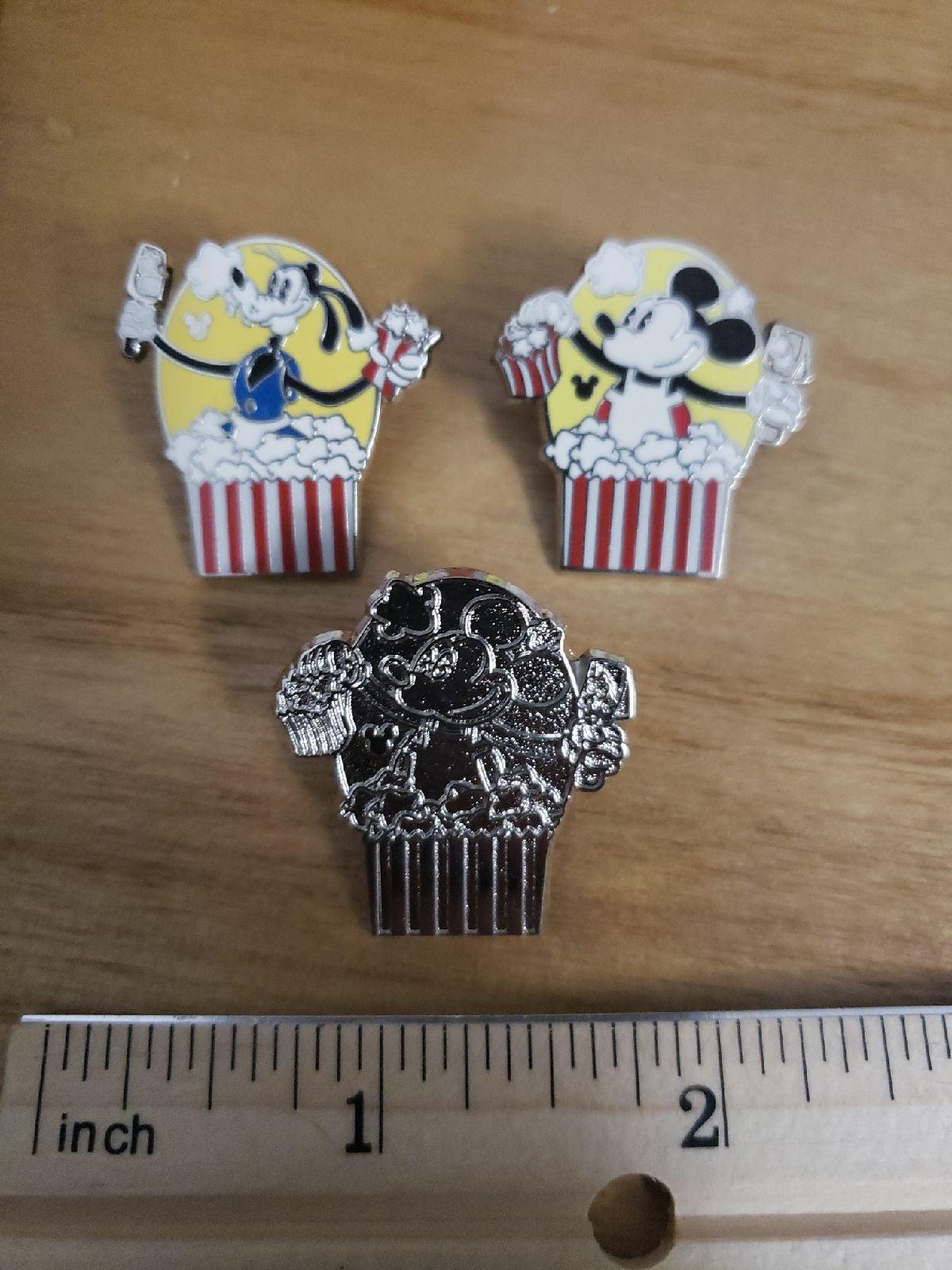 Disney Popcorn Bucket Trading Pins