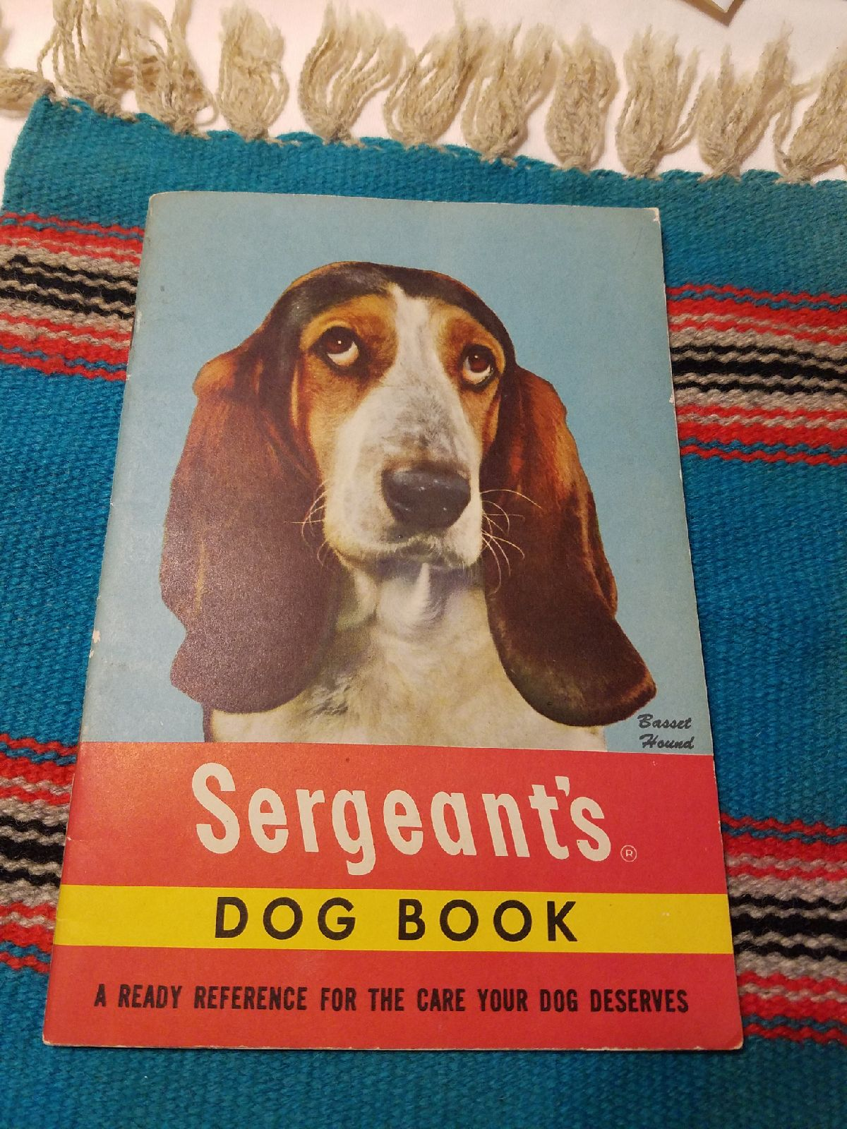 Vintage Sergeant dog book