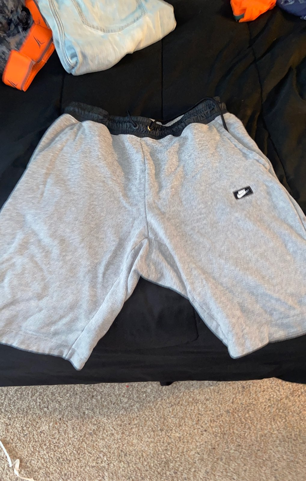 Nike fleece shorts
