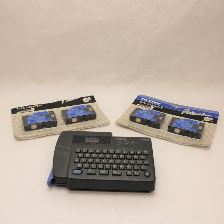 Brother P-Touch PT-15 Label Maker + Tape