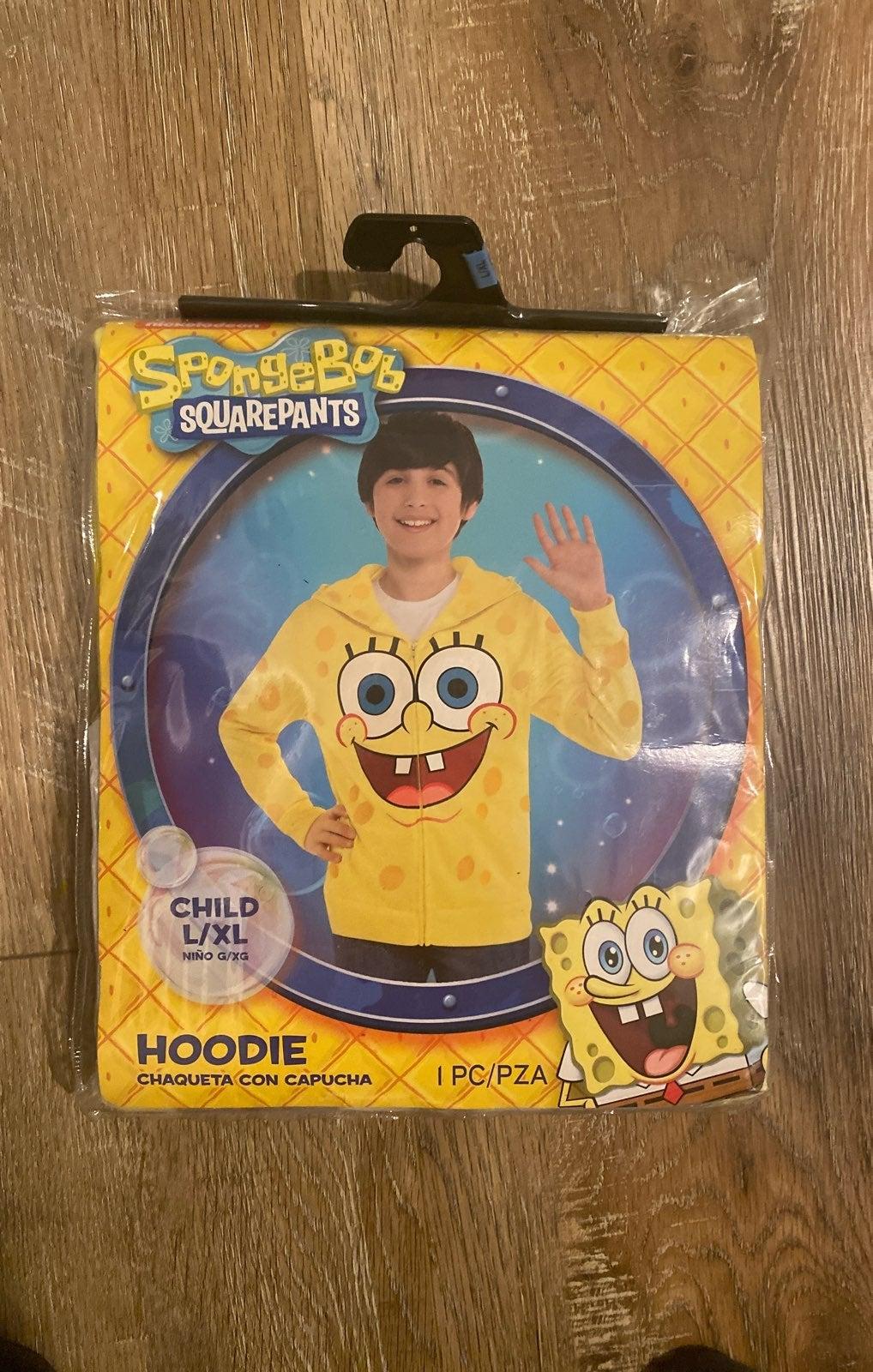 Sponge bob costume sweatshirt