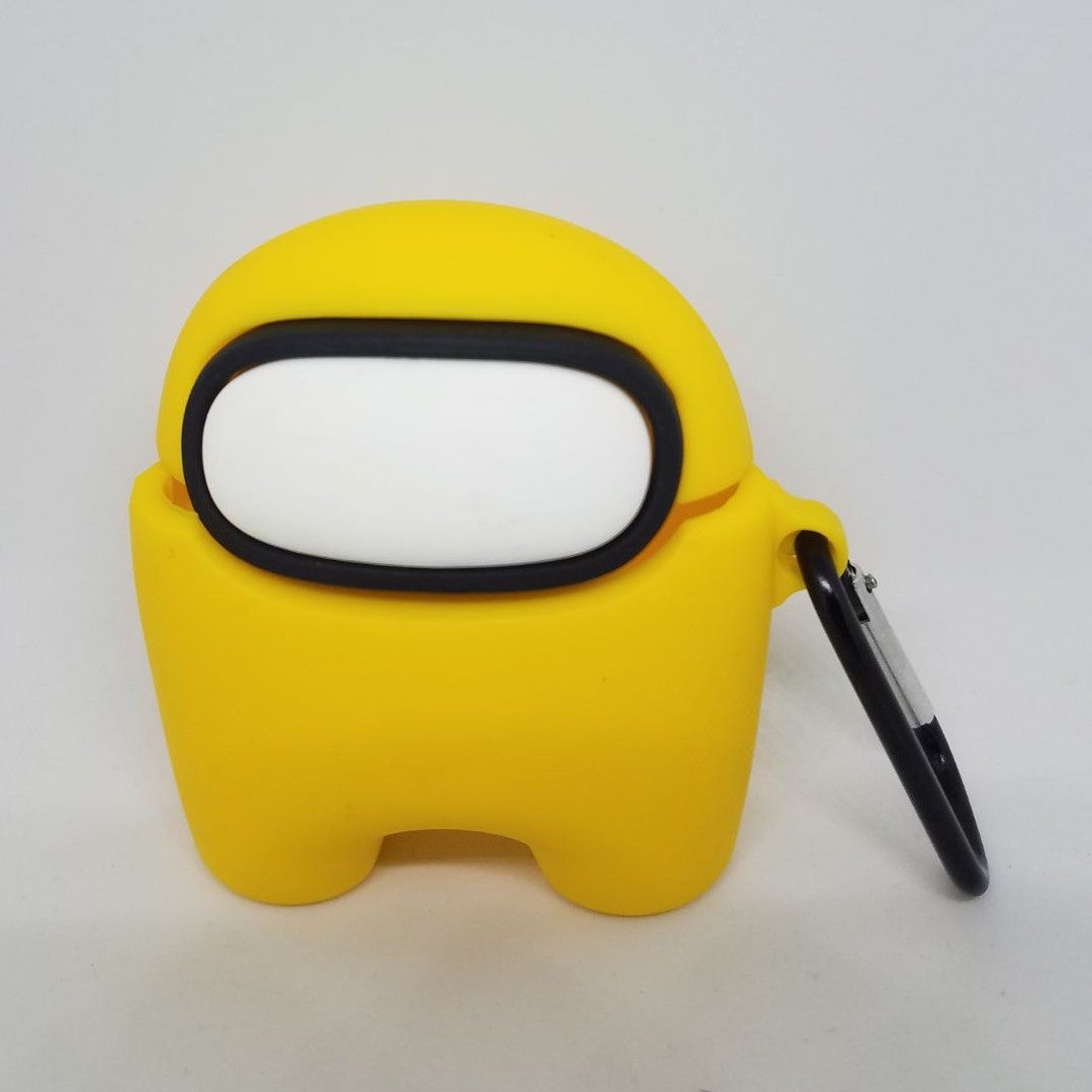 Yellow Among Us Airpods Pro Case