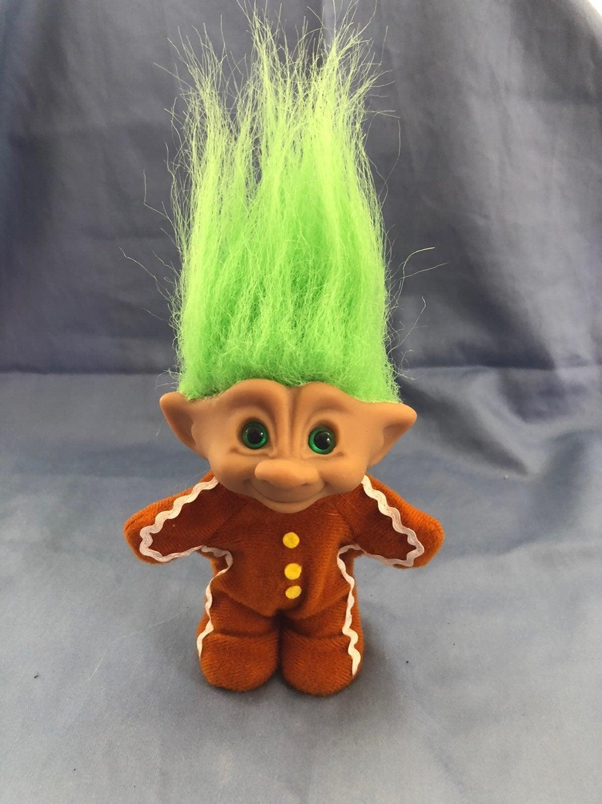 Vintage Russ Troll Gingerbread Man