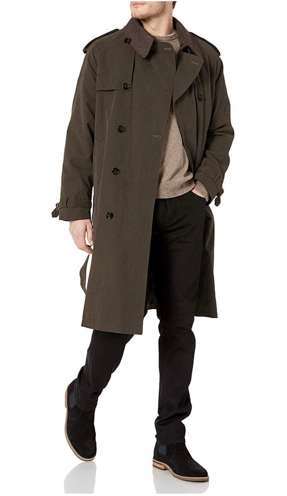 Christian Dior Monsieur Dark Khaki Wool