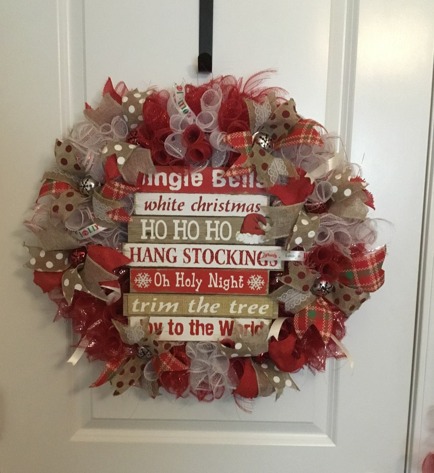 "Christmas ""Jingle Bell"" Wreath"