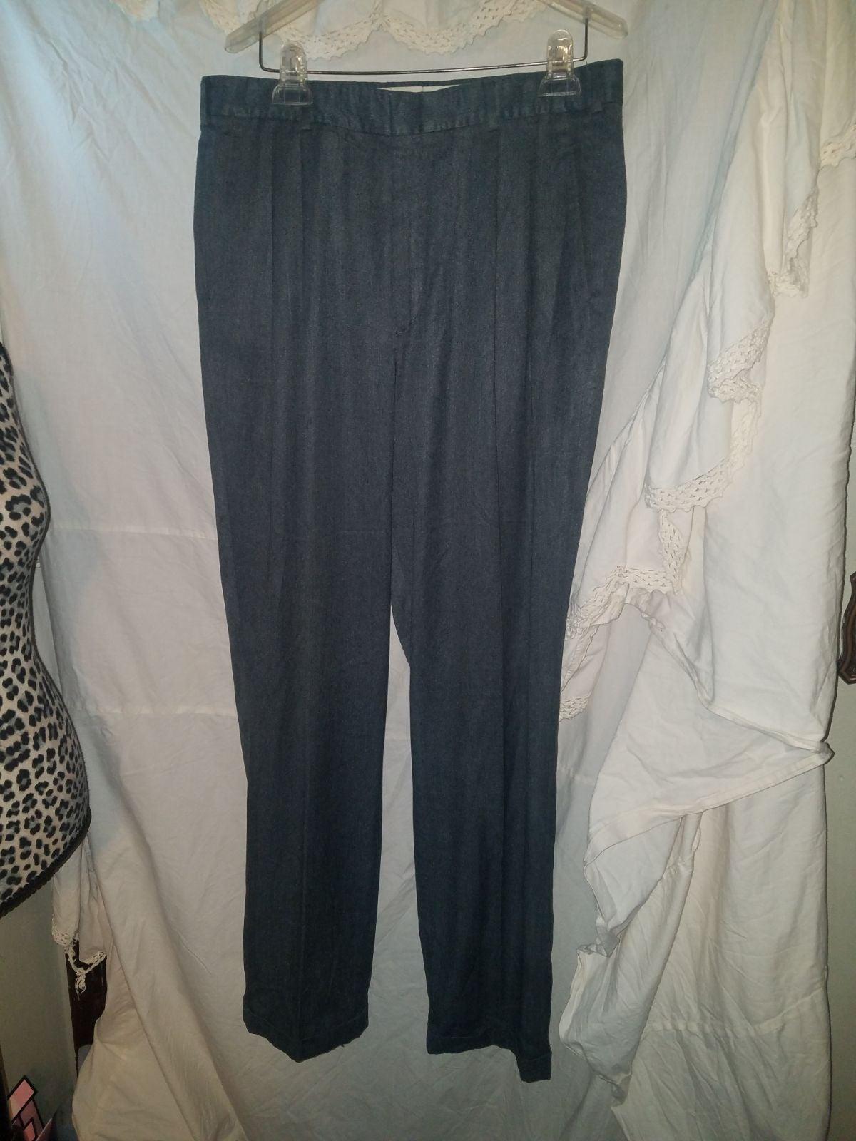 pants Mens dress pants grey 34x34