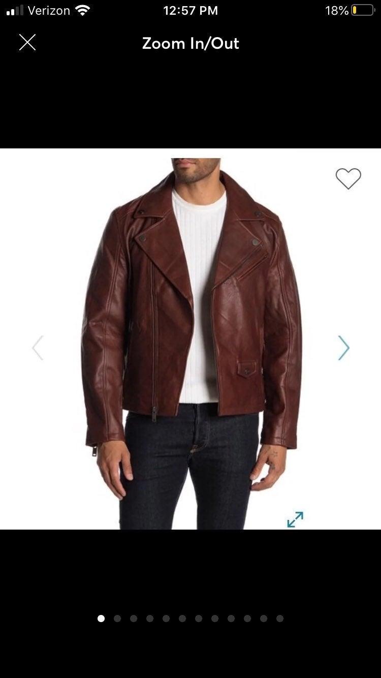 UGG Men's Vaughn Moto Jacket NWOT