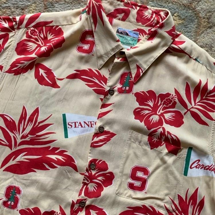 Reyn Spooner STANFORD Hawaiian Shirt XL