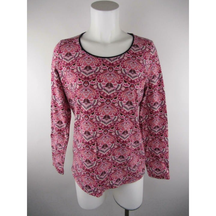Kim Rogers Cotton Spandex Knit Top