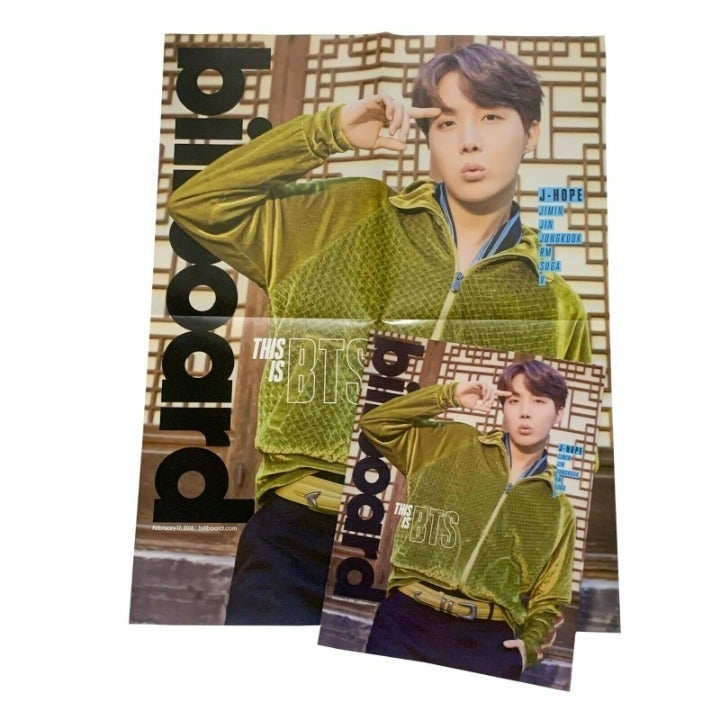 BTS J-Hope Billboard Magazine