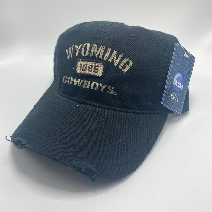 NWT Wyoming Cowboys Men's Hat Black