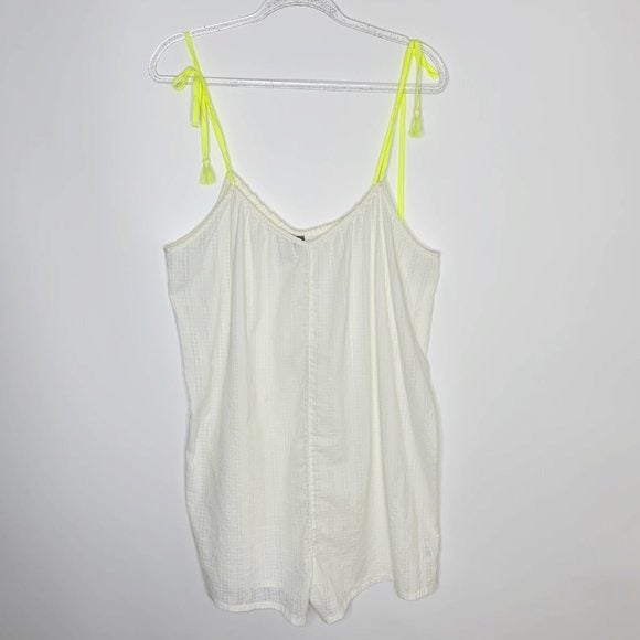 NEW Aerie cotton sheer swim cover up L