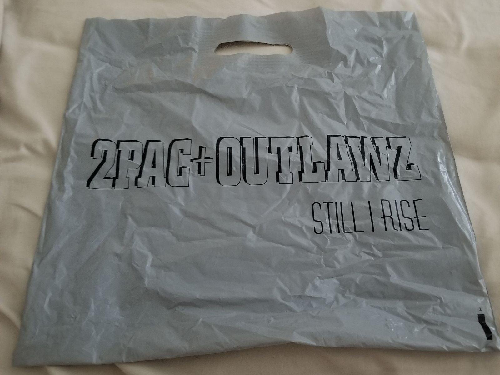 2pac + Outlawz Still I Rise Promo Bag Ra
