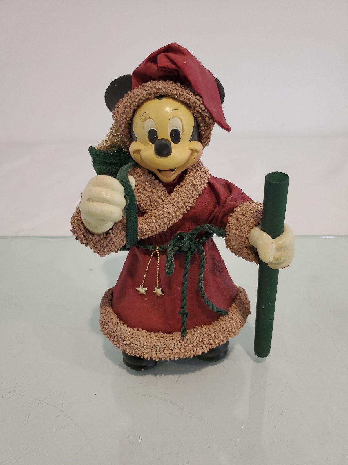 Disney mickey mouse figurine vintage