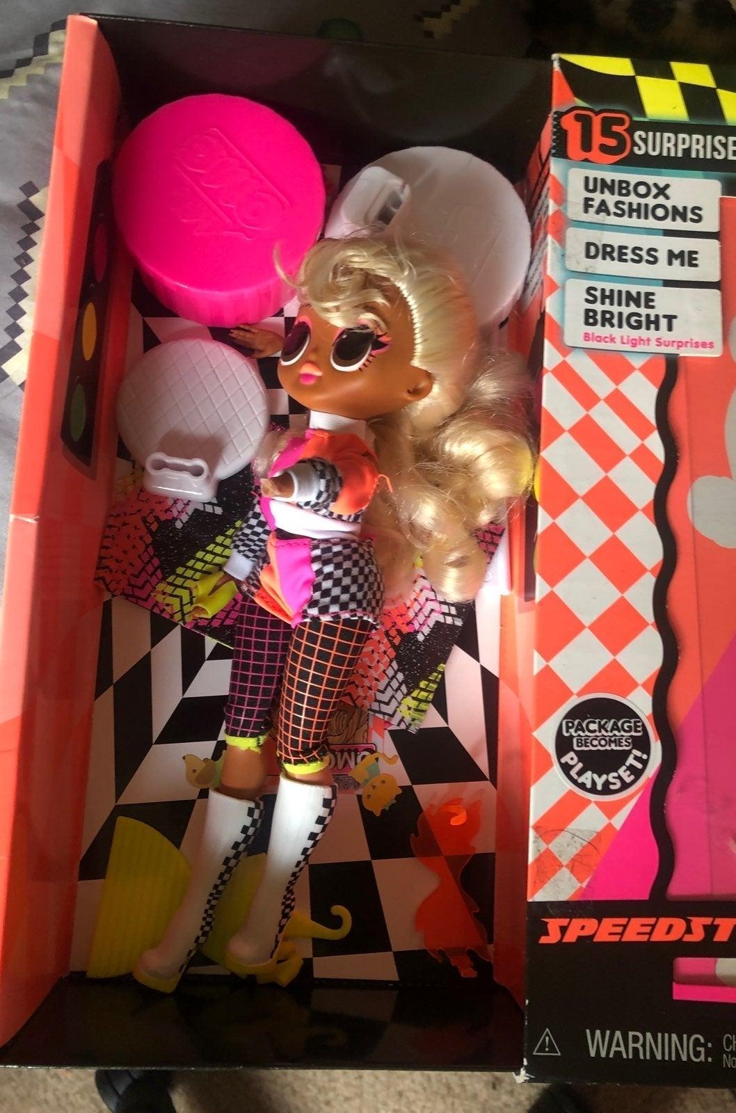 Speedster omg lol doll