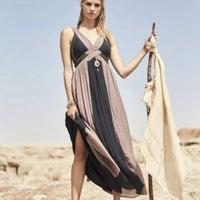 9c15203bb9b Altar'd State Grecian Navy Maxi Dress