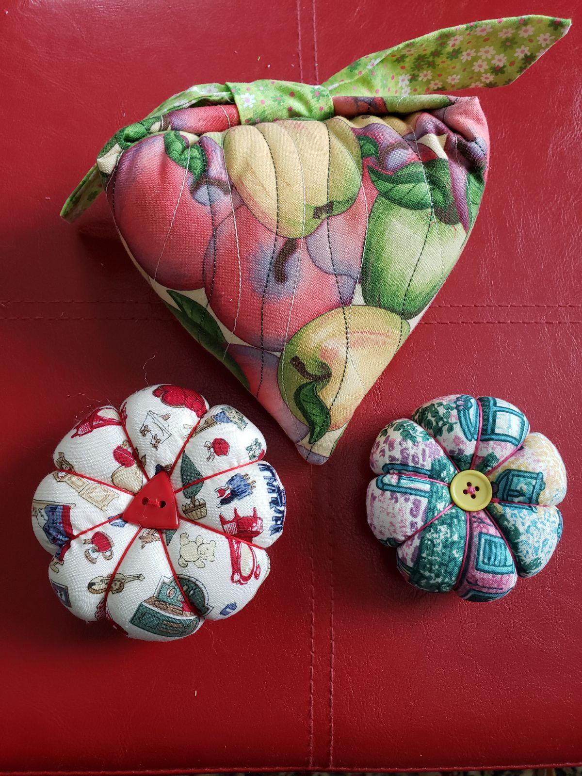 Handmade Quilt Pincushion Bundle