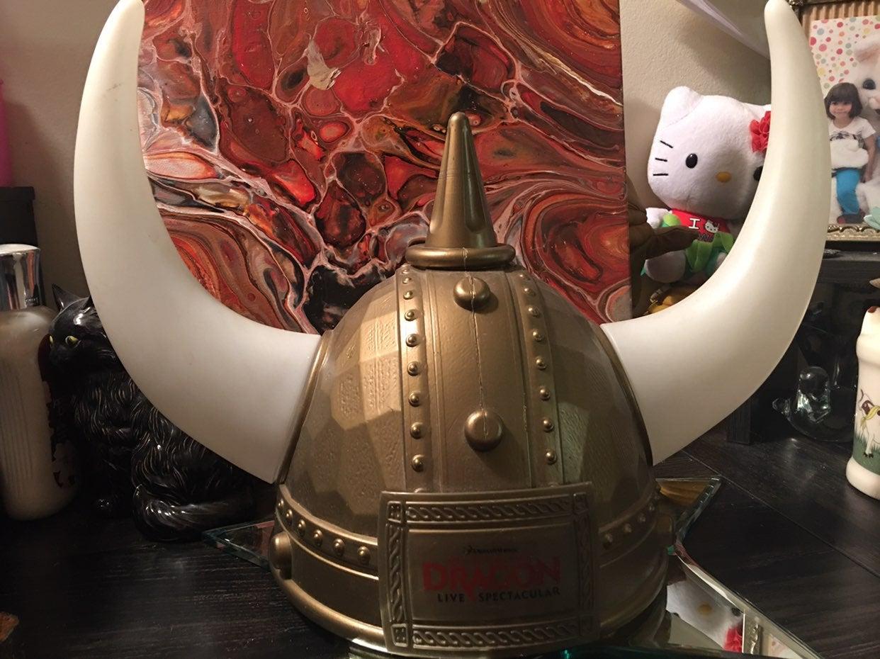 How to tran your dragon helmet