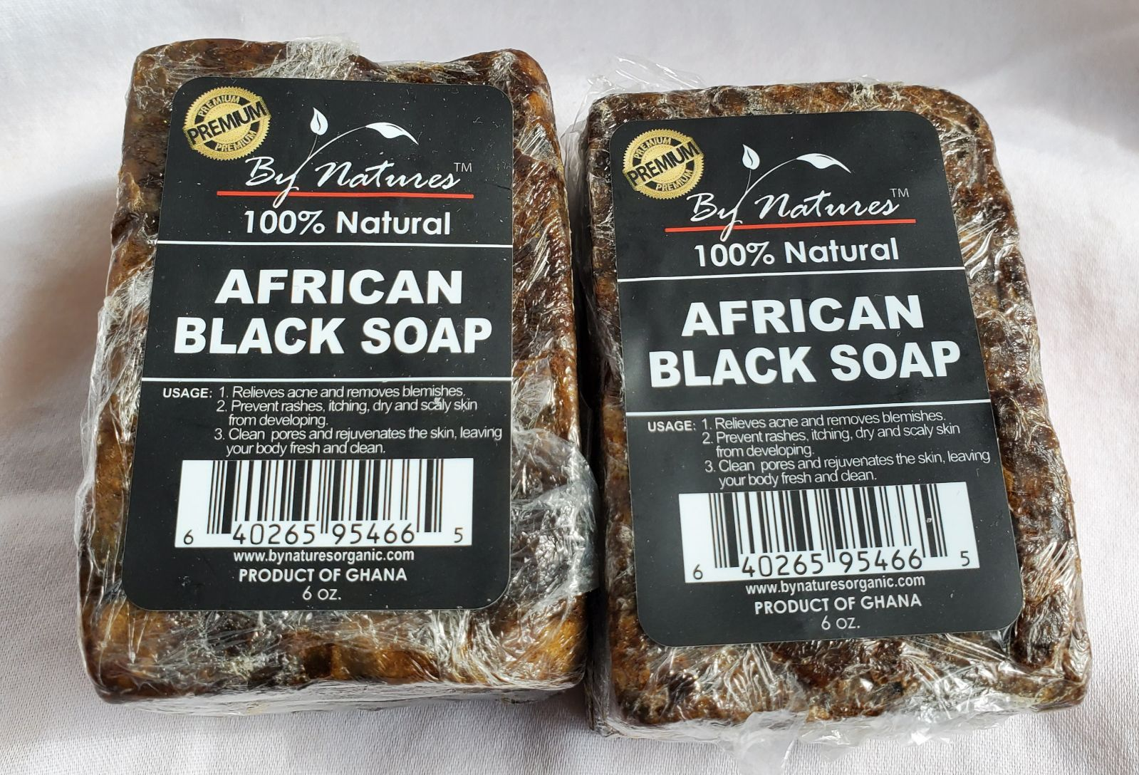 100% African black soap 2for $10