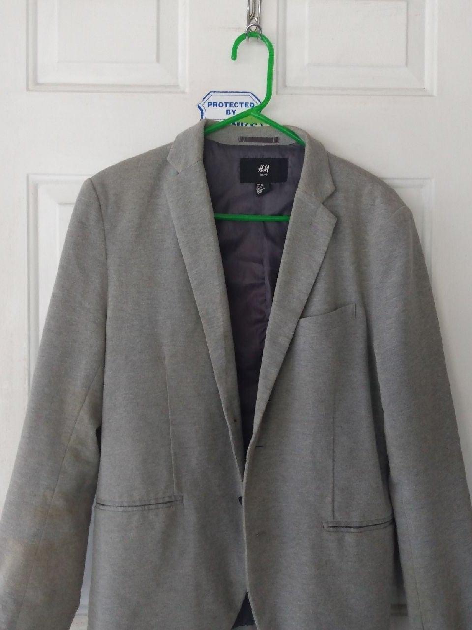 H&M Men's Grey Blazer