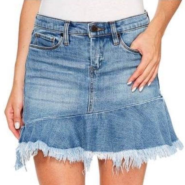 BLANKNYC women's jean skirt