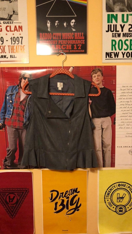 Lauren Conrad Moto Style Vest