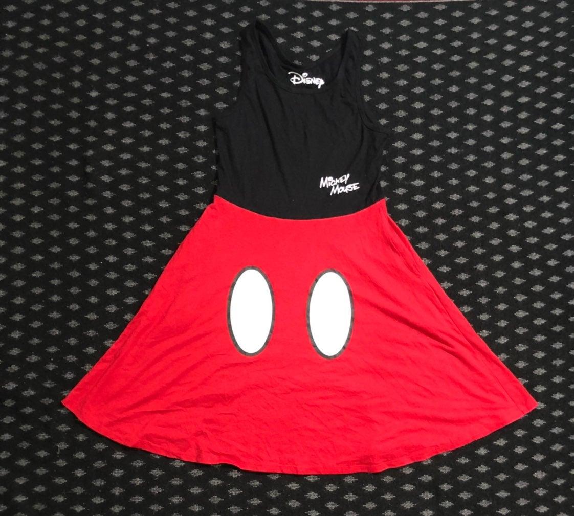 Disney Mickey Mouse Dress Sz S