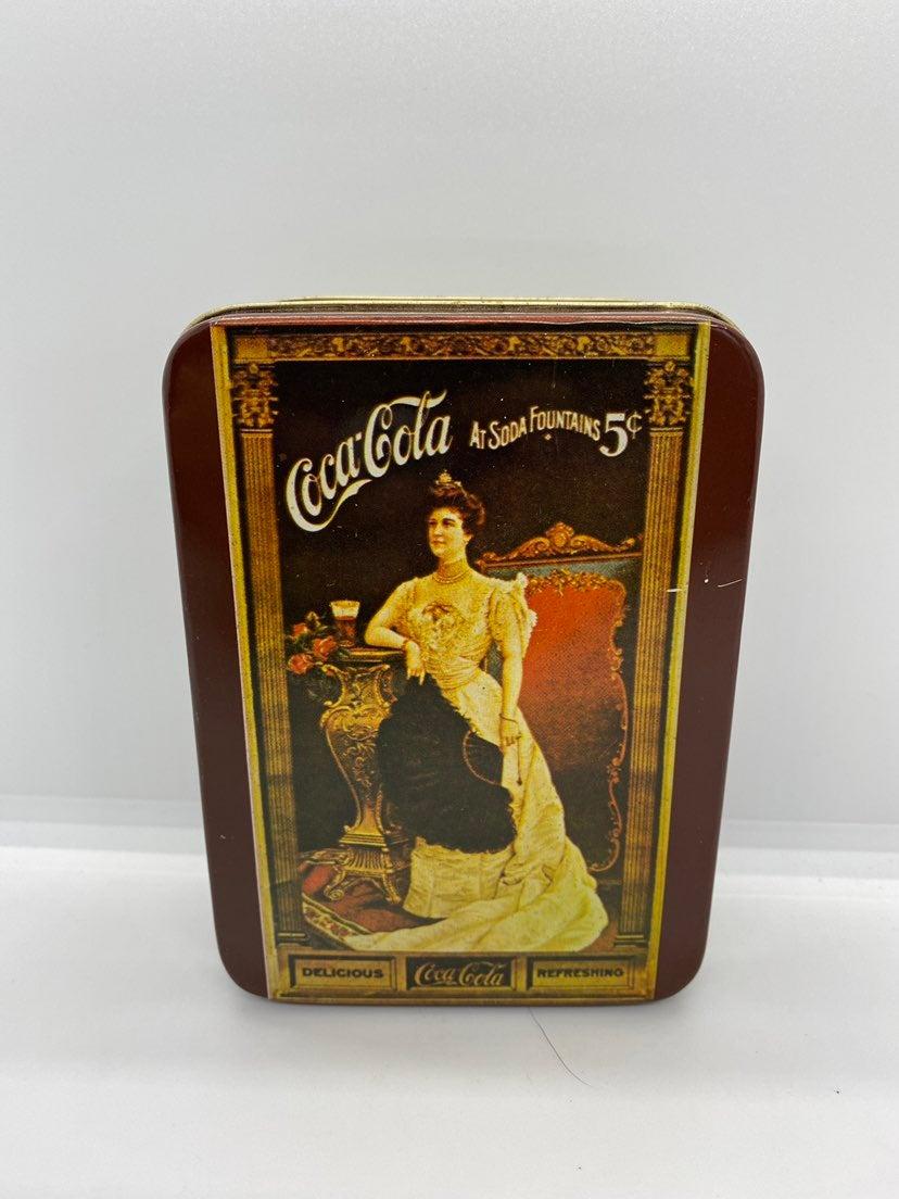 Vintage Coca Cola Tin Box #A49