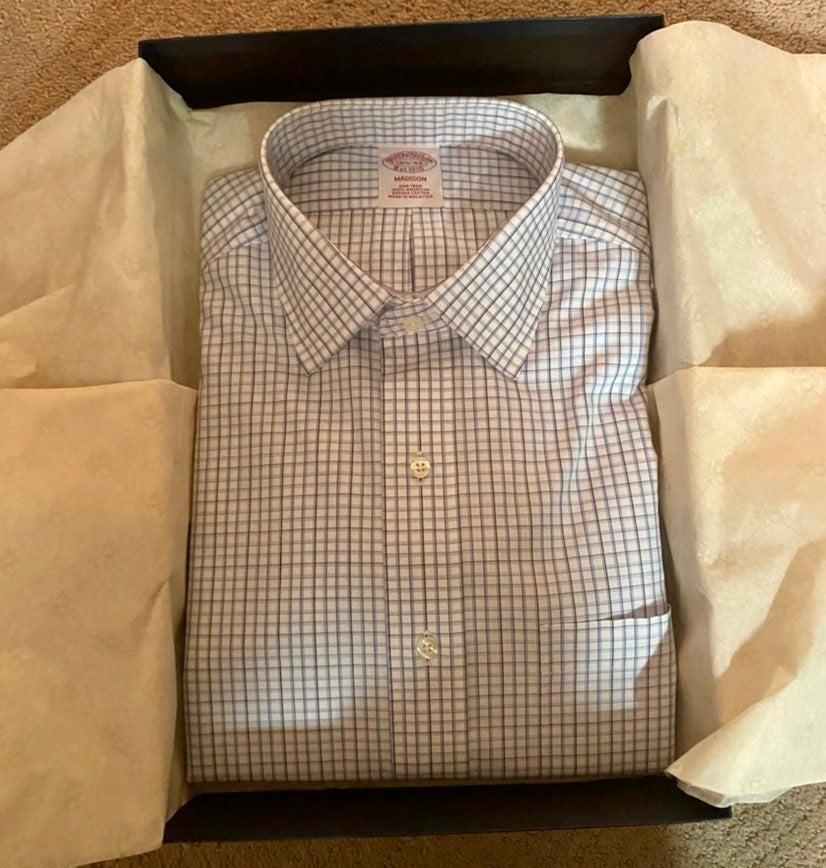 New Brooks Brothers Mens Dress Shirt