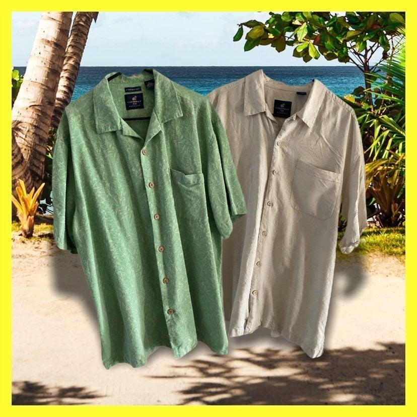 Caribbean Joe shirts lot of 2