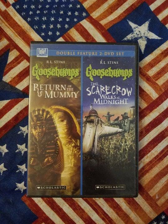 DVD 2 Pack! Goosebumps R. L. Stine.