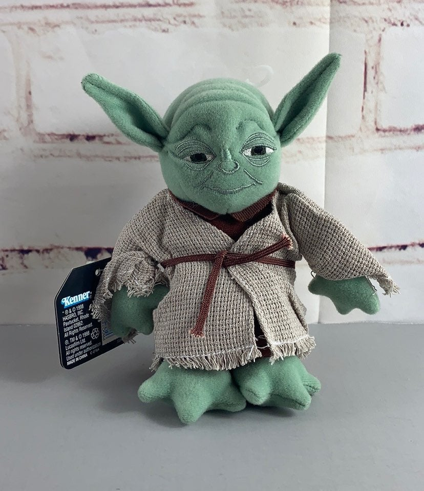 Star Wars Buddies Yoda Beanie Bean Plush