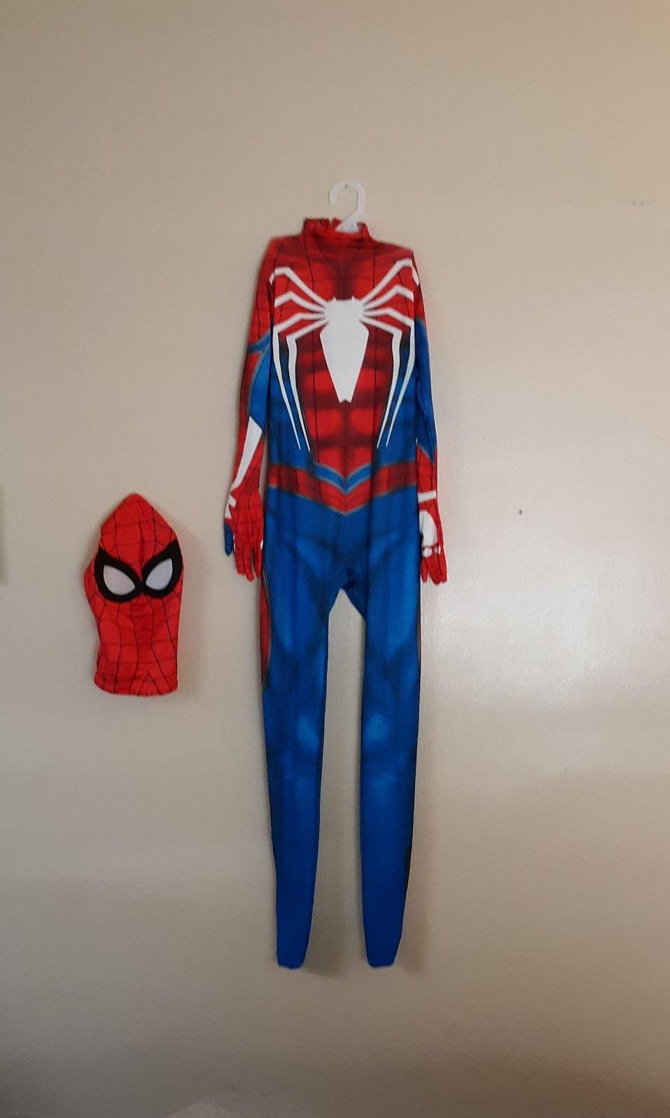 Marvel Spiderman Costume :kids sm. NWT