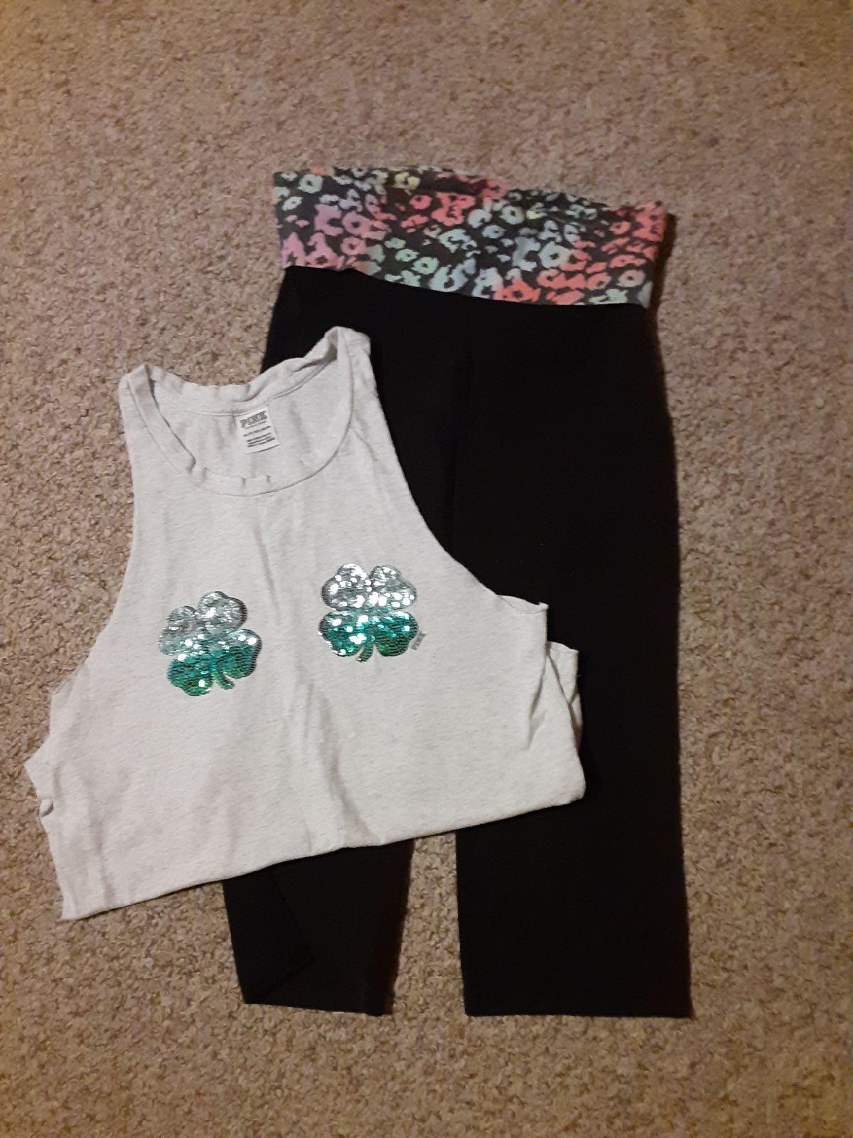 vs PINK leggings & top