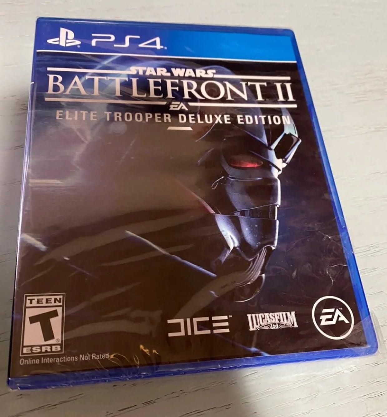 NEW Star Wars Battlefront II: Elite ps4