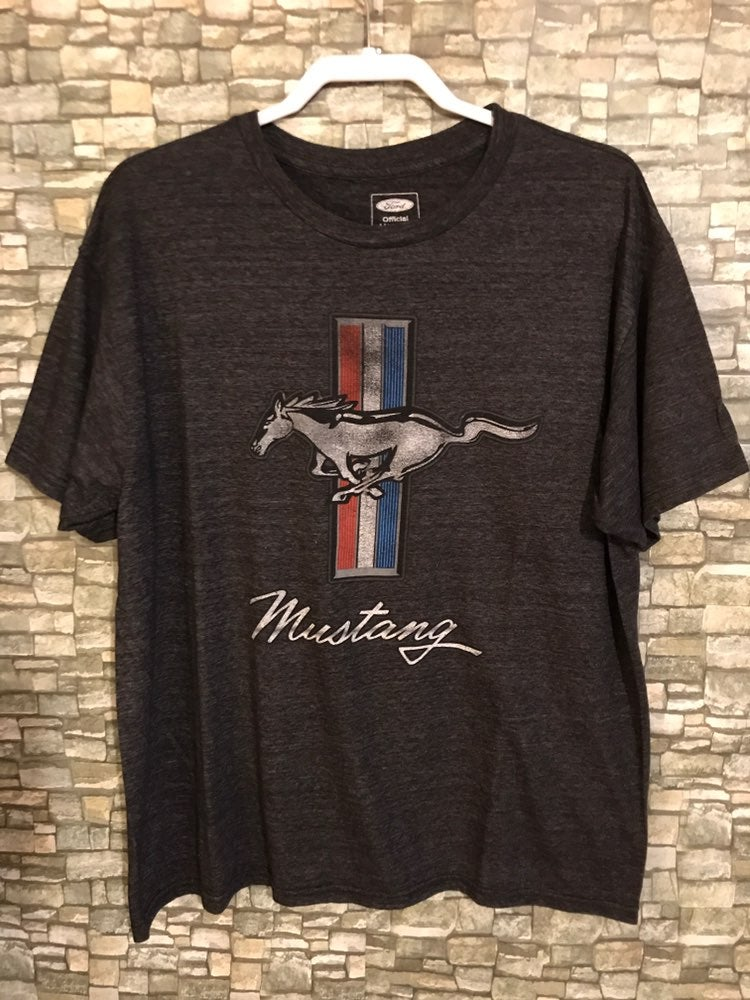 Ford Mustang Official T-Shirt Horse Logo
