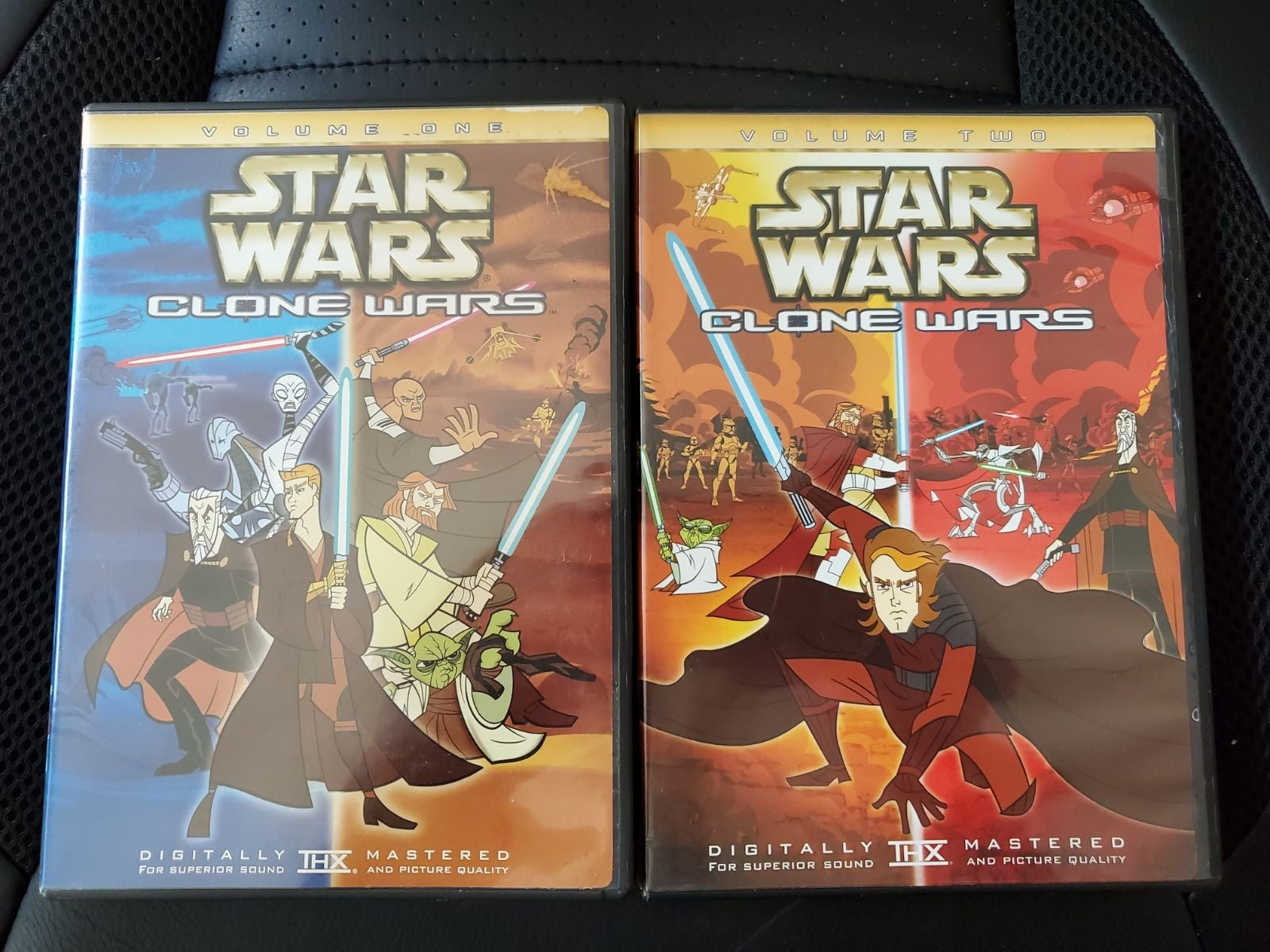 Genndy Cartoon Network Clone Wars DVD
