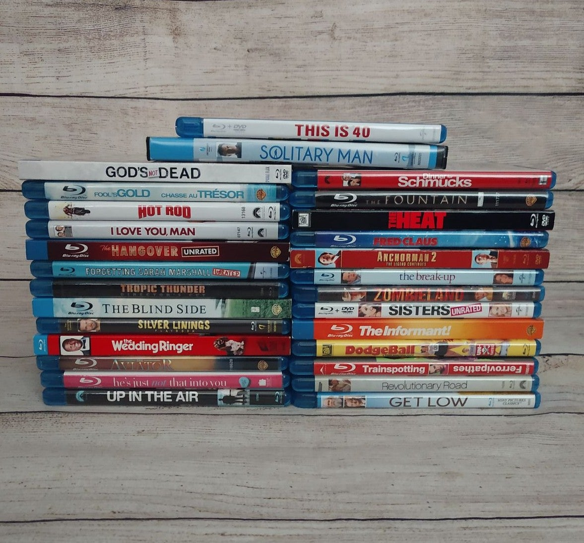 Lot of 28 BLU-RAY Comedy Romance Movies
