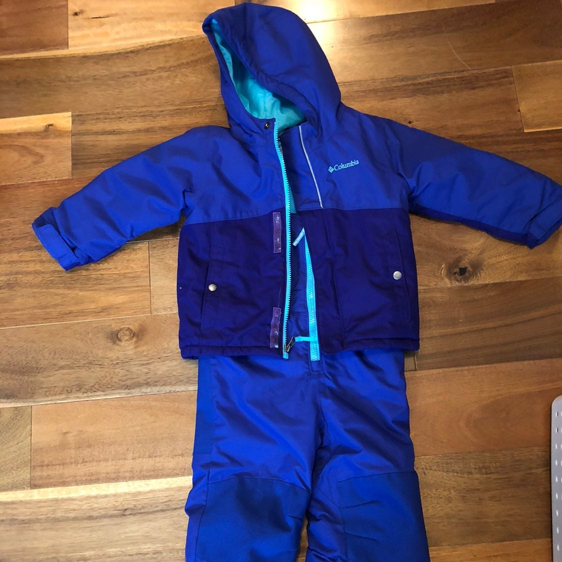 Columbia size 3T snow suit purple