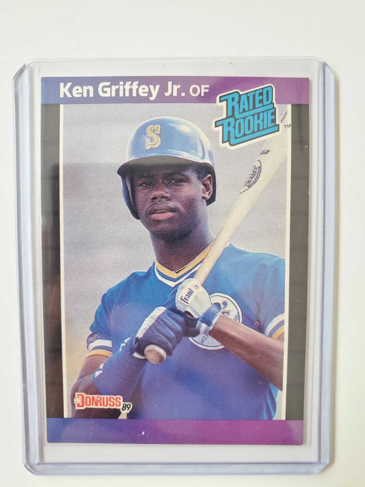 Ken Griffey Jr. Rookie card PAIR