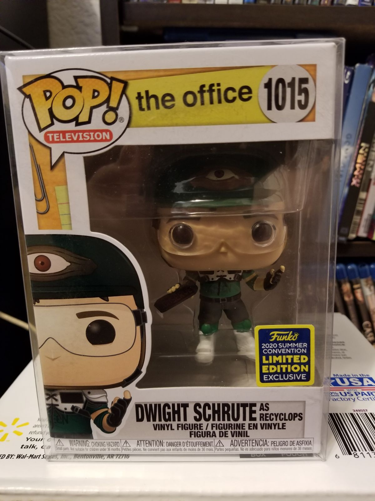Funko Pop SDCC 2020 Exclusive Dwight As