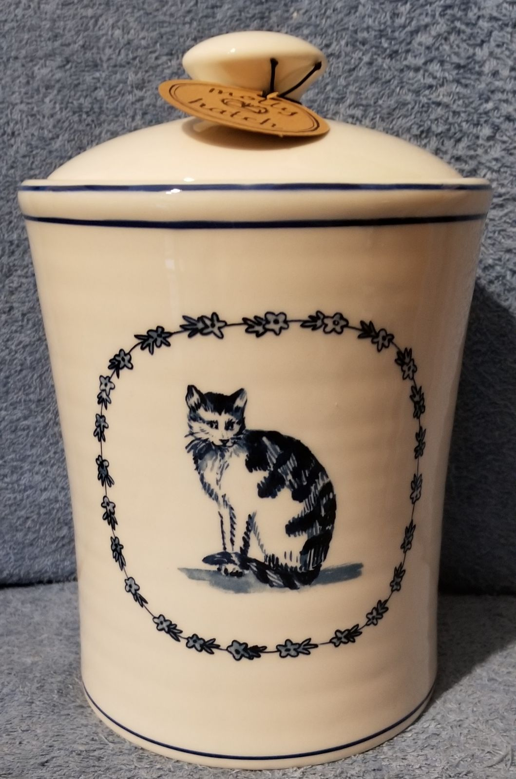 MOLLY HATCH LARGE CAT CANISTER HTF