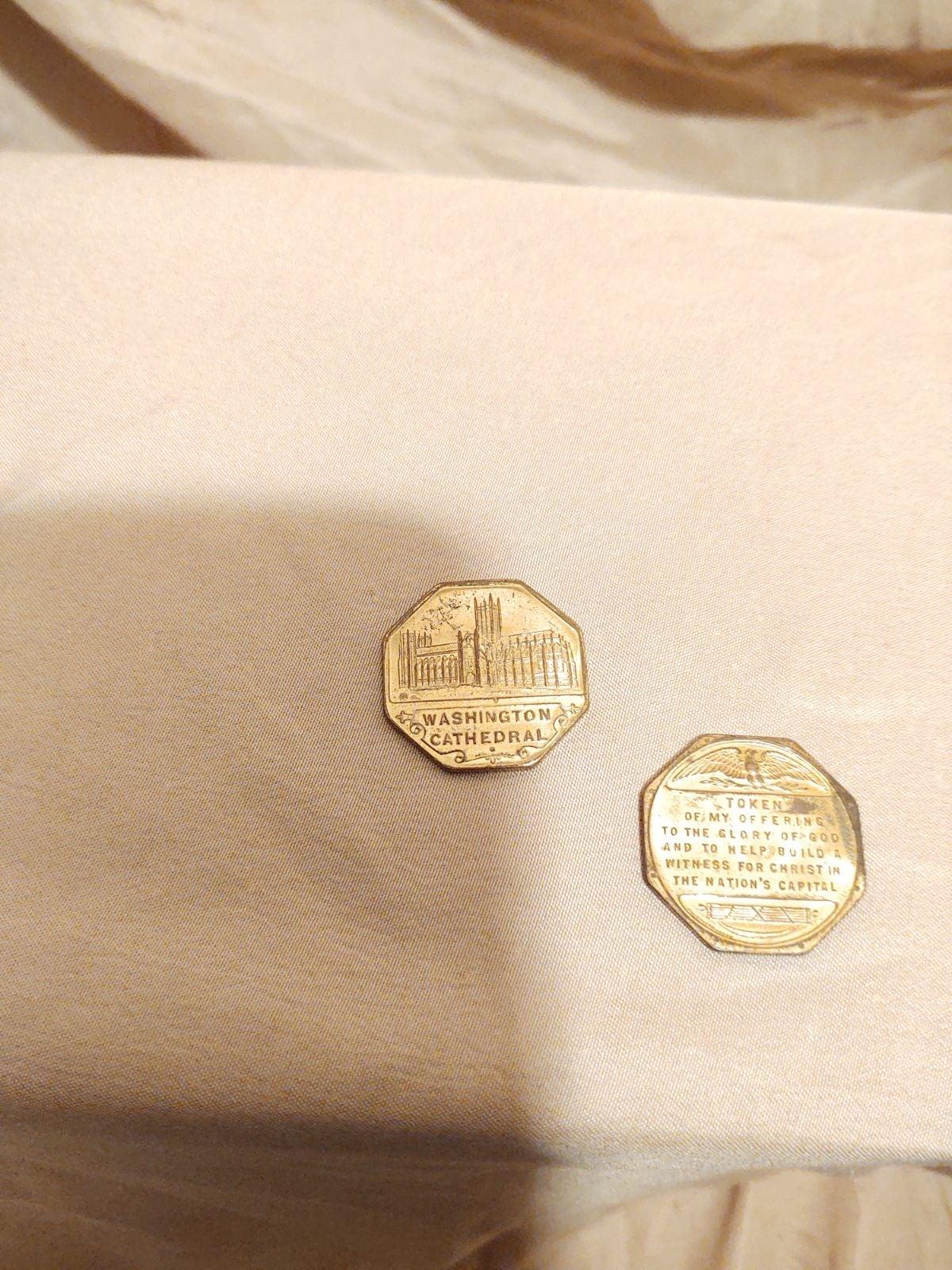 Washington Cathedral tokens